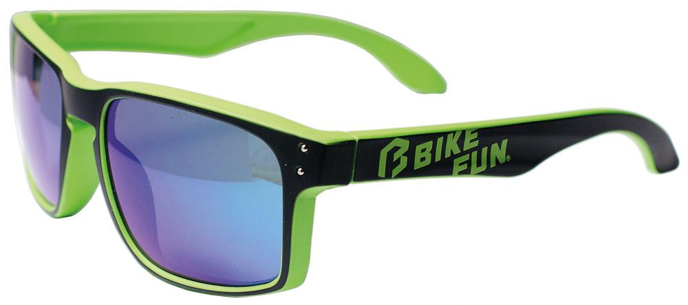 Bikefun Stage  zöld  - napszemüveg  Full Revo kék lencse  b755d32bf3