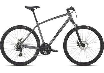Specialized CrossTrail Mechanical Disc [2018] [Charcoal/Gloss Black/Black] [ L ] - Cross Fitness