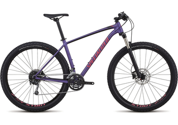 Specialized Rockhopper Expert [2018] [M] [Heritage Satin Purple/Acid Pink/Black]