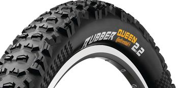 Continental 55-622 RUBBER QUEEN 2.2 29INCH 29X2,2 FEKETE/FEKETE, SKIN