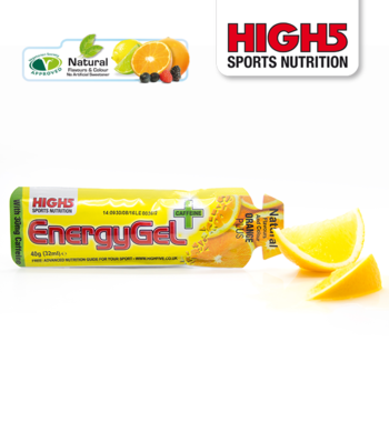 HIGH5 ENERGYGEL ORANGE PLUS CAFFEINE